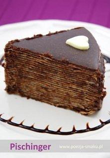 Pischinger – czyli tort z wafli to podobno specjalność austriacka. W Polsce w czasach mojego dzieciństwa, przygotowywano z przekładanych czekoladową masą wafli pyszne ciastka. W...