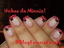 Nail Tutorial: Unhas da Minnie