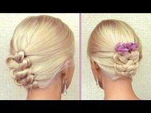 Knot braid updo for medium ...