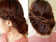 Princess Braided Updo Hair ...