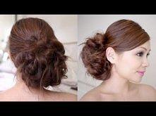 Bridal Messy Side Bun Hair ...