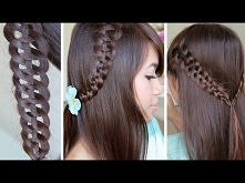 Unique 4 Strand Braid (Slide Up) Hairstyle for Medium Long Hair Tutorial