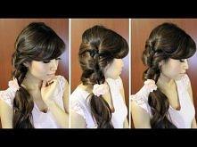 Fancy Loop Ponytail Hairsty...