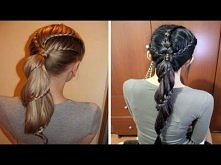 Spiral Lace Braid Ponytail Hairstyle Hair Tutorial