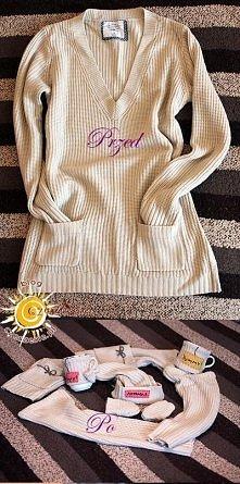Jak przerobić sweter? Szczegóły są dość długie, dlatego po więcej informacji ...