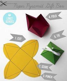 pudełeczko - piramidka
