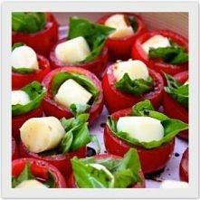 pomidorki z mozarellą