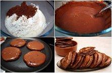 chokolate pancakes