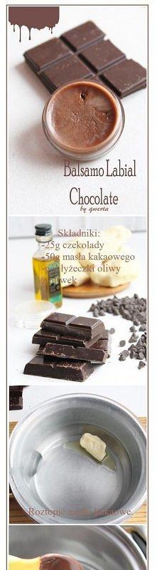 czekoladowa balsam do ust