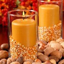 Świeczki z sezamem