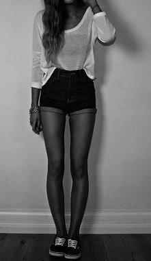 #vans #shorts #long #legs