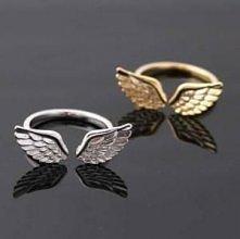 Pierścionki ze skrzydłami