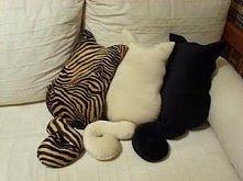 kocie poduszki.