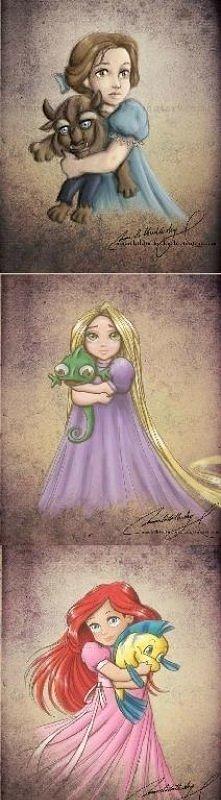 małe księżniczki Disney`a.