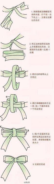 Wiązanie podwójnej kokardki