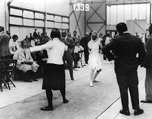 1928 - Helene Mayer Fencing...