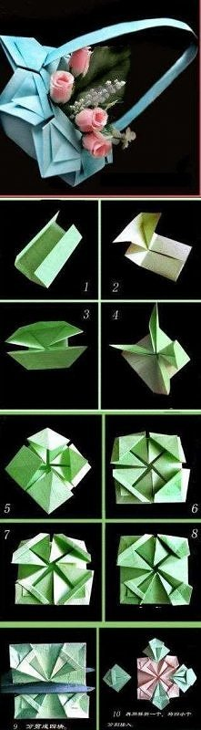 Koszyczek origami