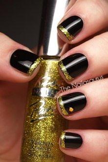 czarno złote