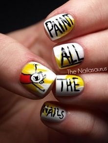 paint all the nails