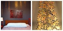 Zwykłe puzzle a potrafią dodać tyle uroku! + złota farba i dekoracja nie do uwierzenia..
