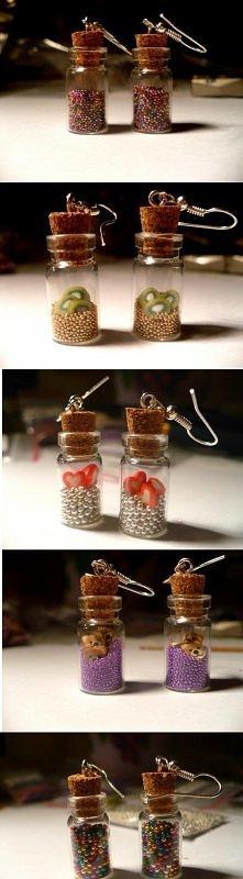 butelkowe kolczyki;)