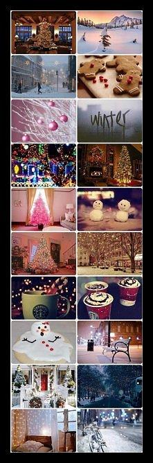 <3 zima, śnieg... Święta!