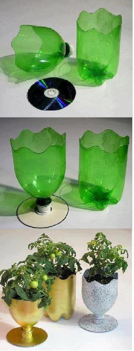 doniczka - recykling