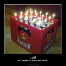 Pomysł na tort urodzinowy :D