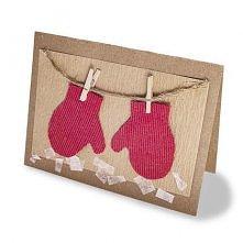 Jak zrobić kartkę świąteczną? Co może bardziej rozgrzewać serce, niż para sus...