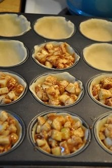 mini-tarty jabłkowe