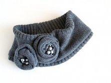 """""""golfik"""" ze swetra zamiast szalika :)"""