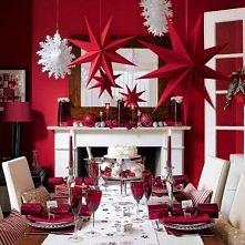 Dekoracja świątecznego stołu... echhh :D <3