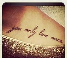 u only live once