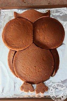 jak zrobic tort w kształcie sowy :)