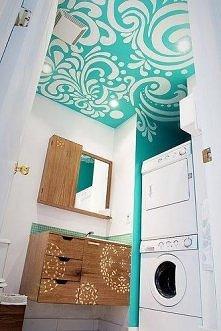 fajnie pomalowany sufit