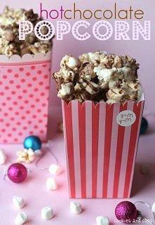 czekoladowy popcorn  link d...