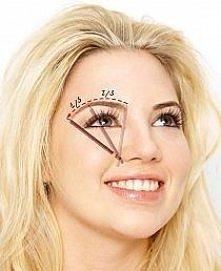 regulacja brwi w zależności od kształtu twarzy