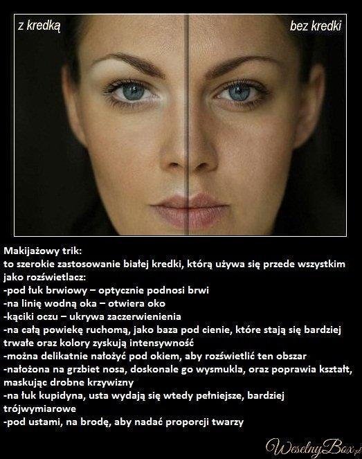 Makijażowe triki