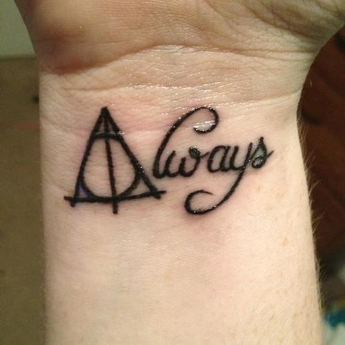 Jedyny Tatuaż Jaki Rozważam Na Harry Potter Zszywkapl