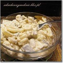 Sałatka śledziowa z ziemniakami i ogórkami kiszonymi (przepis po kliknięciu w zdjęcie).