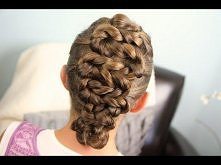 Twisted Zig-Zag Updo | Home...