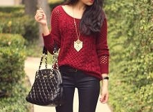 Śliczna torebka i sweterek
