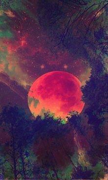 Kolorowa noc :)