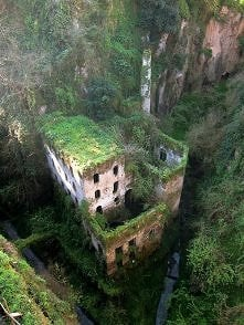 sorrento, Italy. Abandoned in 1866...
