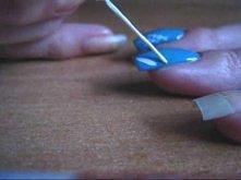 Pajęczynka :) Spiderweb Nails tutorial