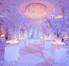 Idealna dekoracja na zimowy ślub