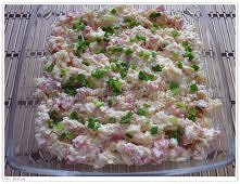 Sałatka z ryżem- tania Skła...