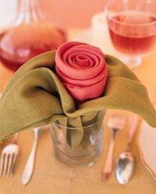 Serwetkowe róże