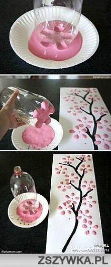 butelkowe kwiaty
