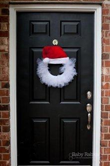 mikołaj na drzwi
